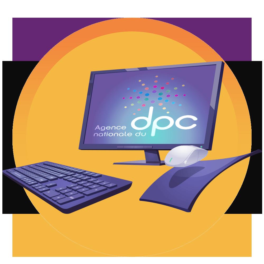 Icône Ordi DPC | Sleep Learning Center